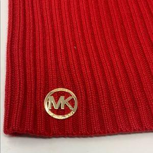 Michael Kors Accessories - Michael Kors Red Neck Warmer